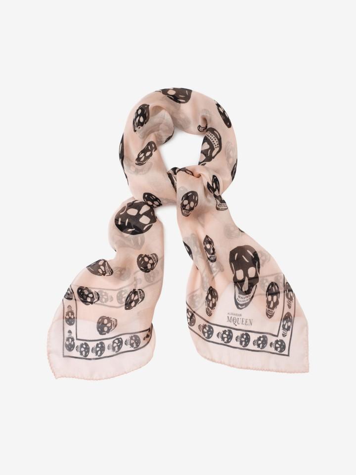 Review: Alexander McQueen Classic Silk Chiffon SkullScarf